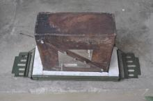 ammo box stovetop oven inner with gasket and stainless splash plate