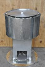 IFB stainless liner school rocket stove